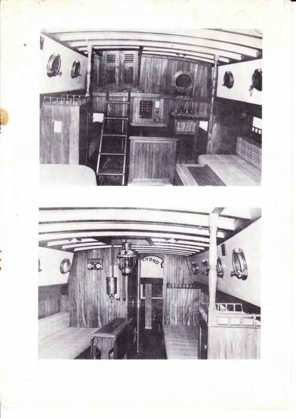 Inside the cabin of Seadog (from original Formosa 37 brochure, 1974)